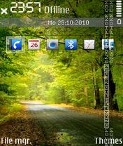 Best nature 01 tema screenshot