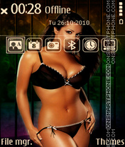 Lucy pinder qvga 01 theme screenshot