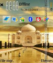 Tajmahal 02 theme screenshot