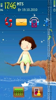 Childhood 02 tema screenshot