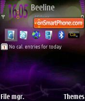 Скриншот темы N95 Default final