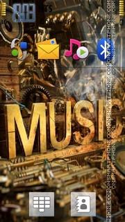 Music 5321 es el tema de pantalla