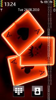 Playing Card theme screenshot