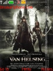 Van Helsing theme screenshot