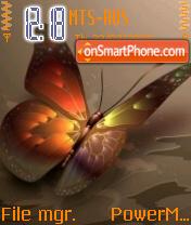 The Best Butterfly theme screenshot