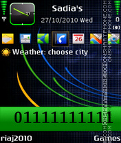 Softcolor tema screenshot