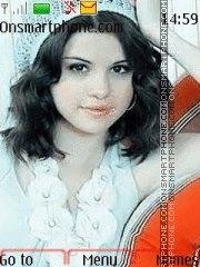 Скриншот темы Selena Gomez 04