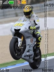 Valentino Rossi 02 Theme-Screenshot