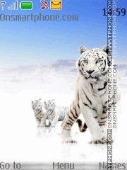 Tiger With Tone 01 es el tema de pantalla