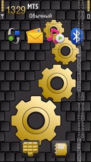 Gears 02 theme screenshot