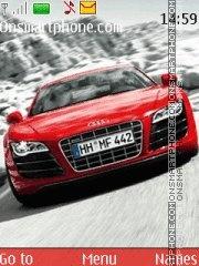 Audi R8 V10 theme screenshot
