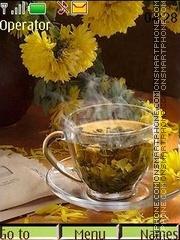 Morning tea theme screenshot
