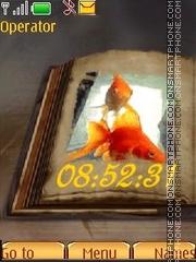 Gold fish theme screenshot