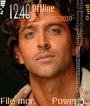 Hrithik Roshan 01 theme screenshot