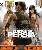 Prince Of Persia 2029 theme screenshot