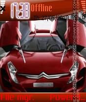 Sport Car 05 es el tema de pantalla