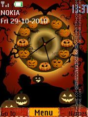 Скриншот темы Halloween 2018