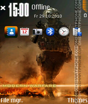 Call of Duty Modern Warfare 2 01 theme screenshot