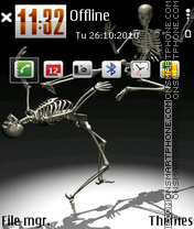 Skull 15 theme screenshot