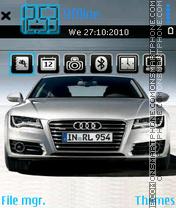Audi a7 theme screenshot