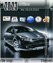 Citroen C4 01 Theme-Screenshot