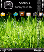Grass theme screenshot