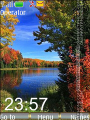 Capture d'écran Autumn Nice thème