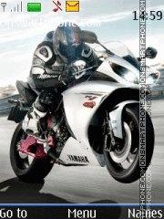 Yamaha YZF R1 tema screenshot