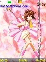 Sakura cardcaptor theme screenshot