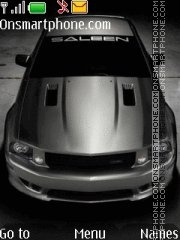 Saleen Mustang Extreme theme screenshot