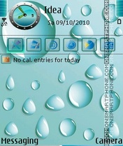 WaterDrops theme screenshot