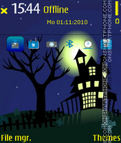 Castle Halloween tema screenshot