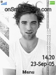 Robert Pattinson 05 tema screenshot