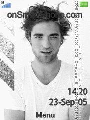 Capture d'écran Robert Pattinson 05 thème