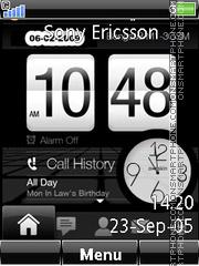Swf Vista Clock Anim theme screenshot