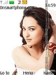 Sonakshi Sinha Icons es el tema de pantalla