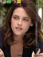 Kristen Stewart 04 theme screenshot