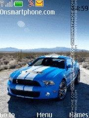 Скриншот темы Ford Mustang vs Cobra