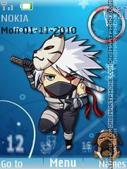 Anbu Kakashi 01 theme screenshot