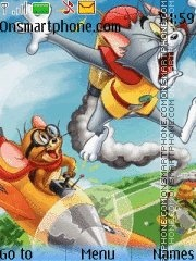 Tom And Jerry 24 es el tema de pantalla