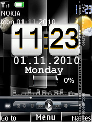 Battery Xpress theme screenshot