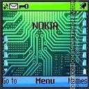 Nokia Inside Phone es el tema de pantalla