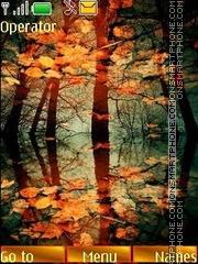 Скриншот темы Mirrors of autumn
