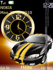 Honda Clock tema screenshot