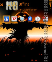 Pumpkin 03 theme screenshot