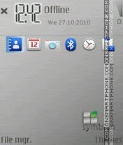 Metallica Symbian Theme-Screenshot