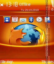 Firefox 16 theme screenshot