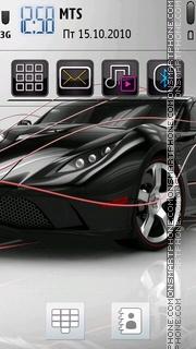 Ferrari 461 theme screenshot