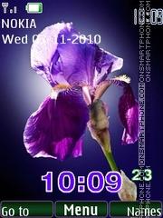 7day-iris es el tema de pantalla