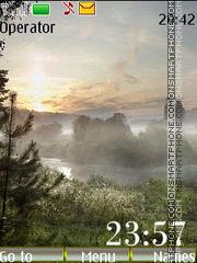 Скриншот темы Foggy Morning